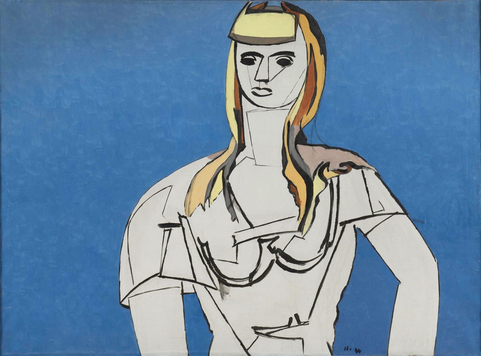 JEAN HÉLION, La fille aux cheveux jaunes, 1944