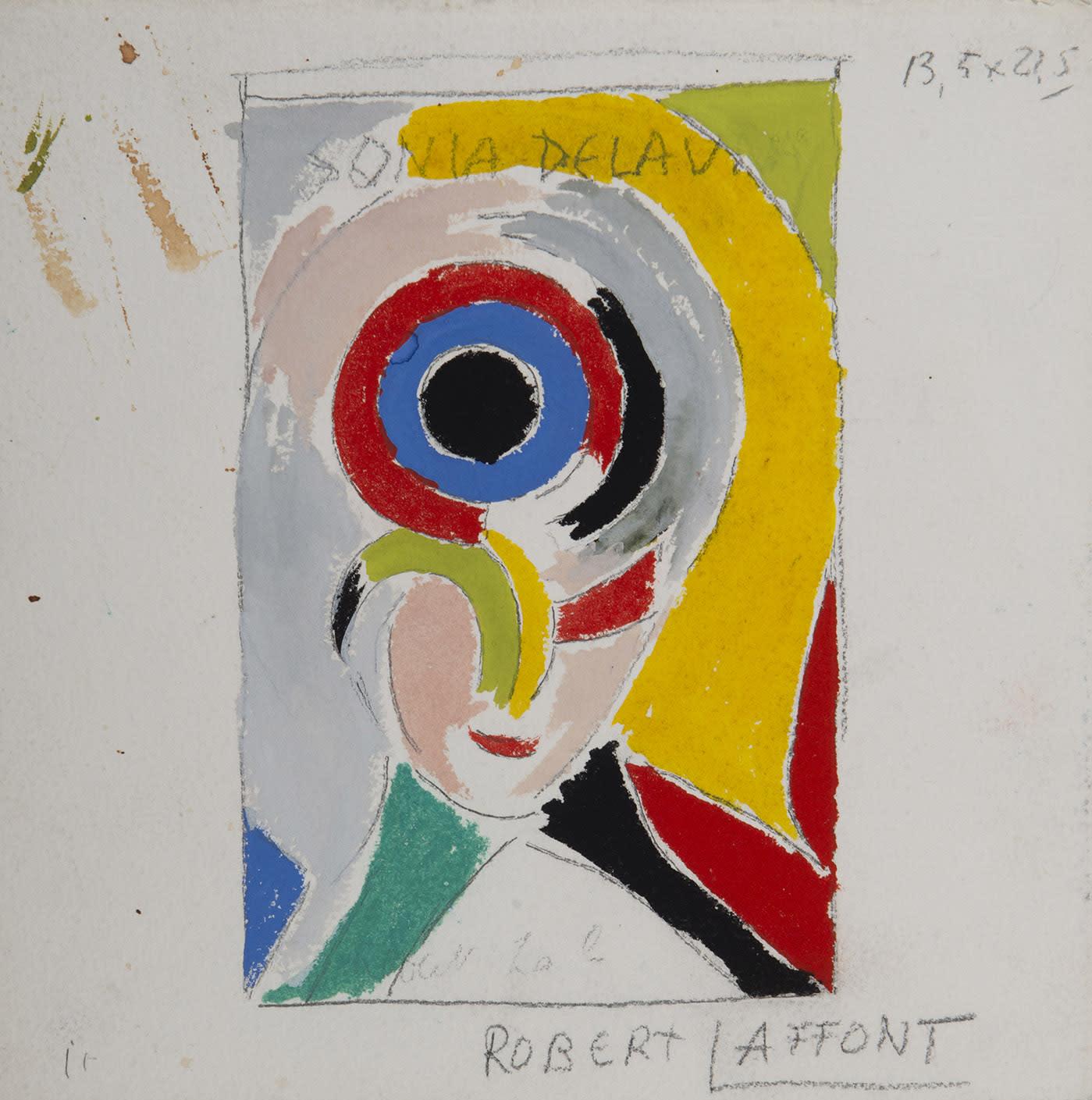 SONIA DELAUNAY, Autoportrait, 1978