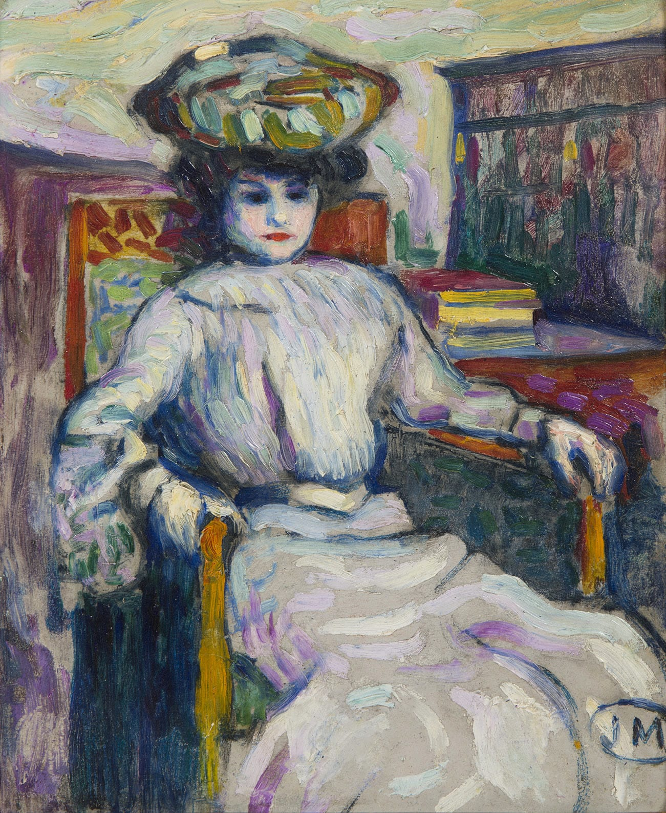 JEAN METZINGER, Femme assise, circa 1906