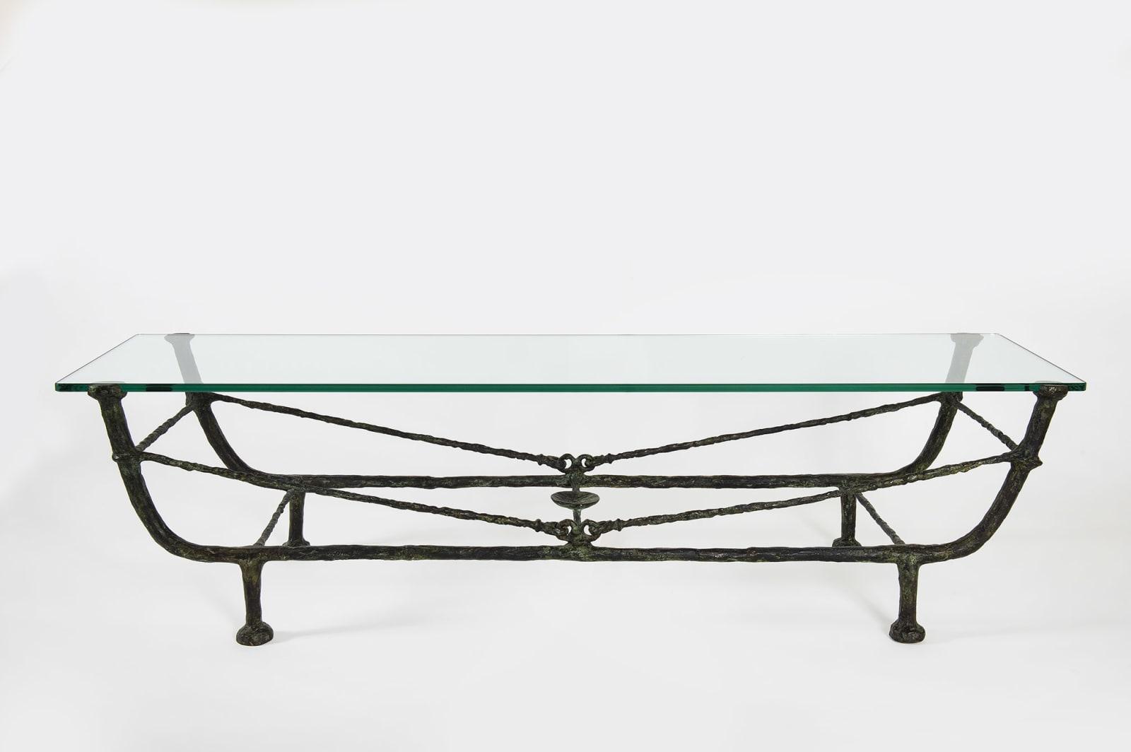 DIEGO GIACOMETTI, Table berceau, Première version, circa 1963