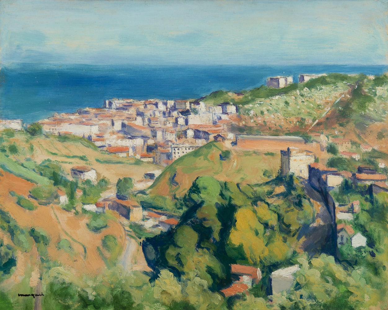 ALBERT MARQUET, Vue d'Alger, circa 1941-1942