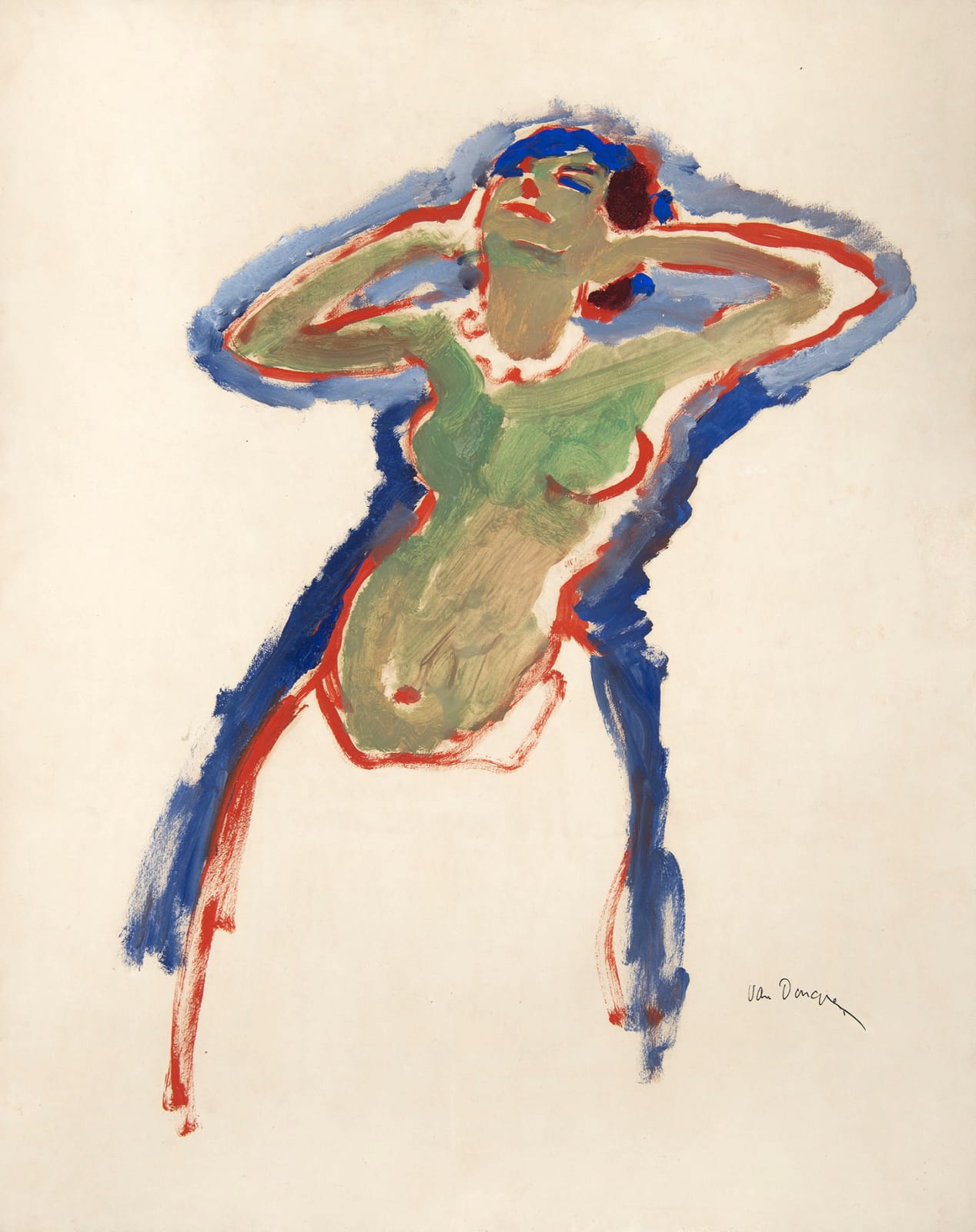 KEES VAN DONGEN, Danseuse, circa 1906-1910