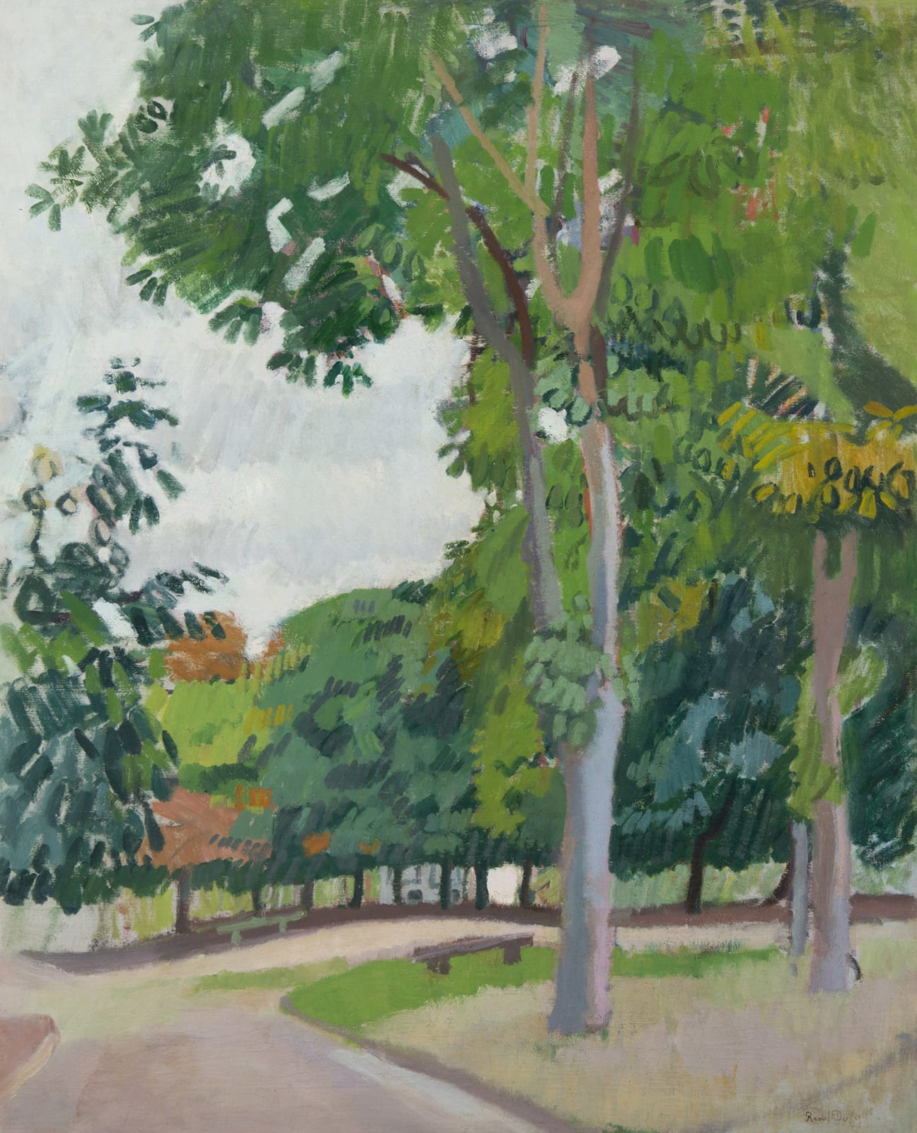 RAOUL DUFY, Le Parc, 1902