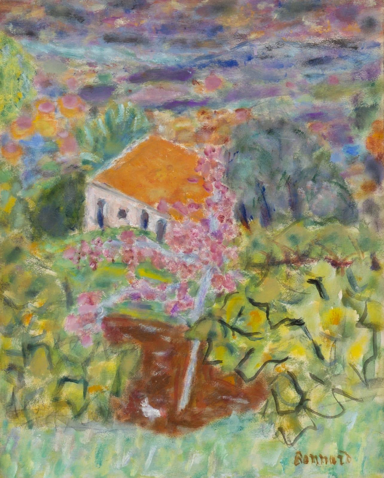 PIERRE BONNARD, Maison du peintre au Cannet, 1942