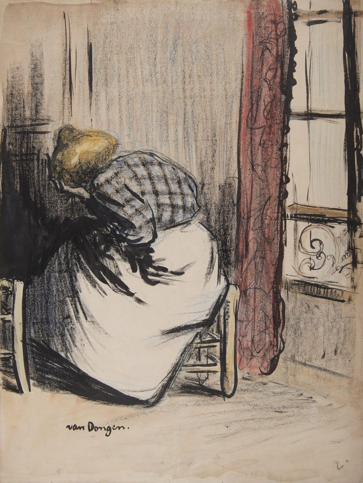 KEES VAN DONGEN, Premier fantôme, Le Mépris, 1901
