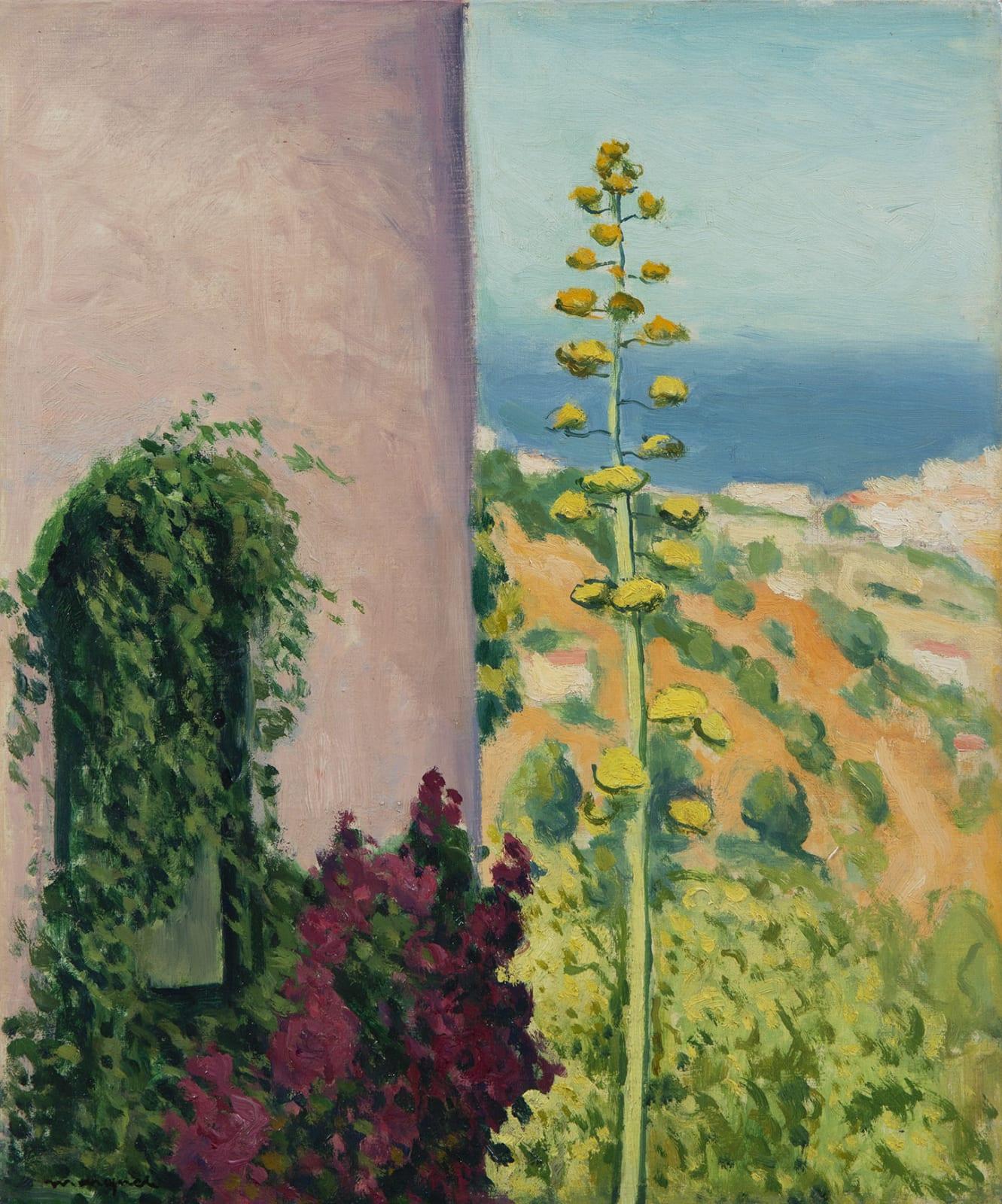ALBERT MARQUET, Aloes fleuri, 1944
