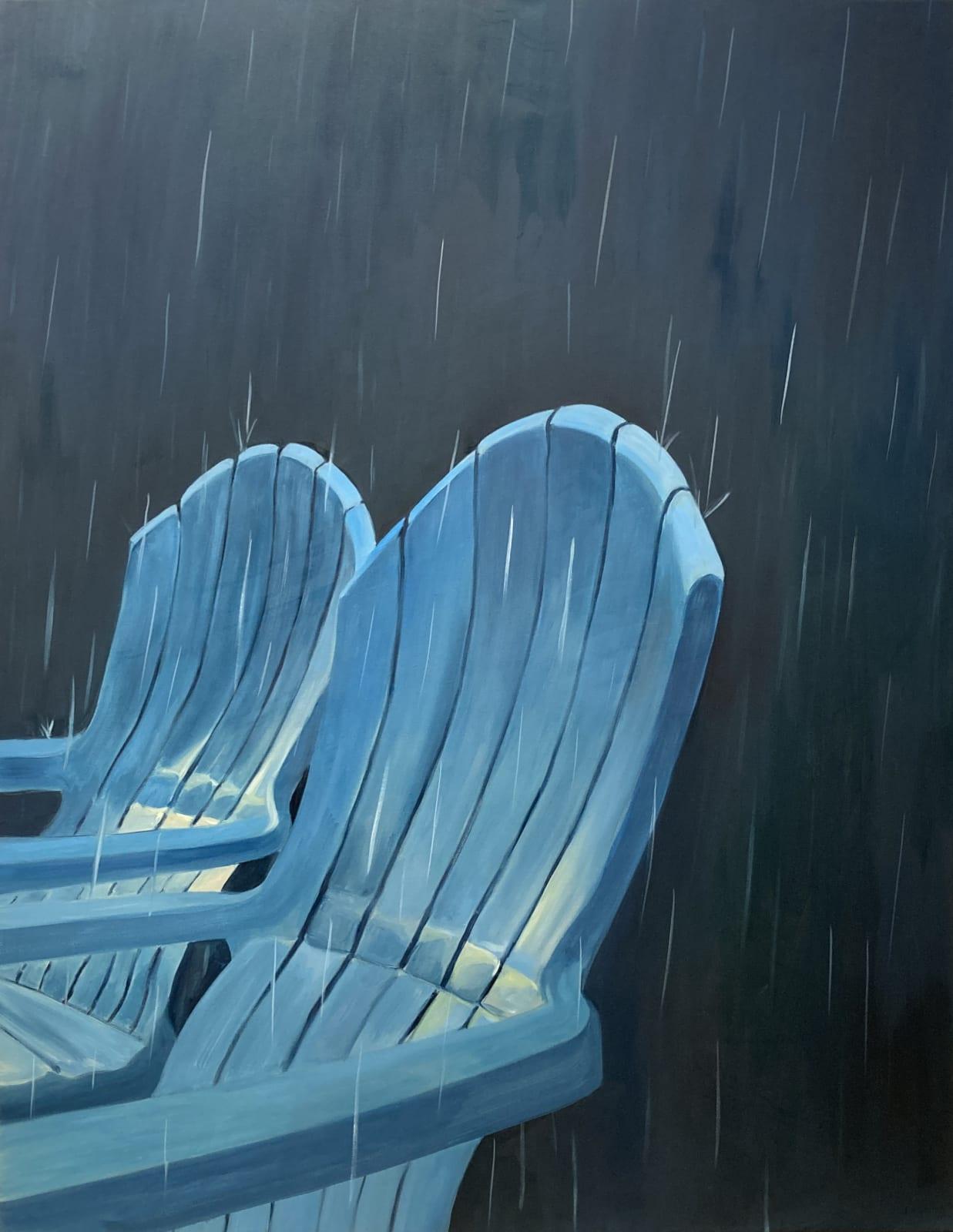 Aglaé Bassens, Evening Rain, 2020