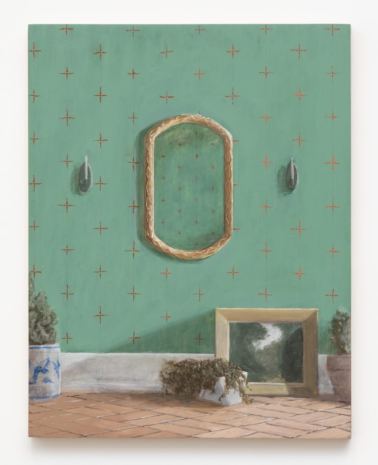 Quentin James McCaffrey, Garden Room, 2020