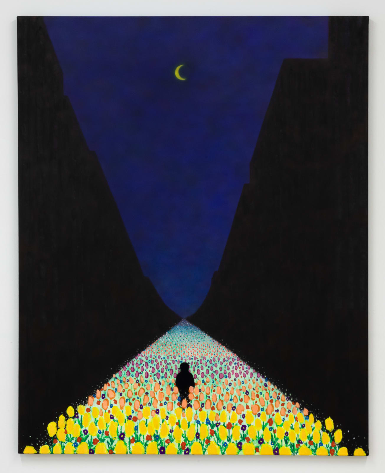 Sung Hwa Kim, Nocturne: My love, hope, and sweet dreams. I'm still here and that is all that matters, 2021