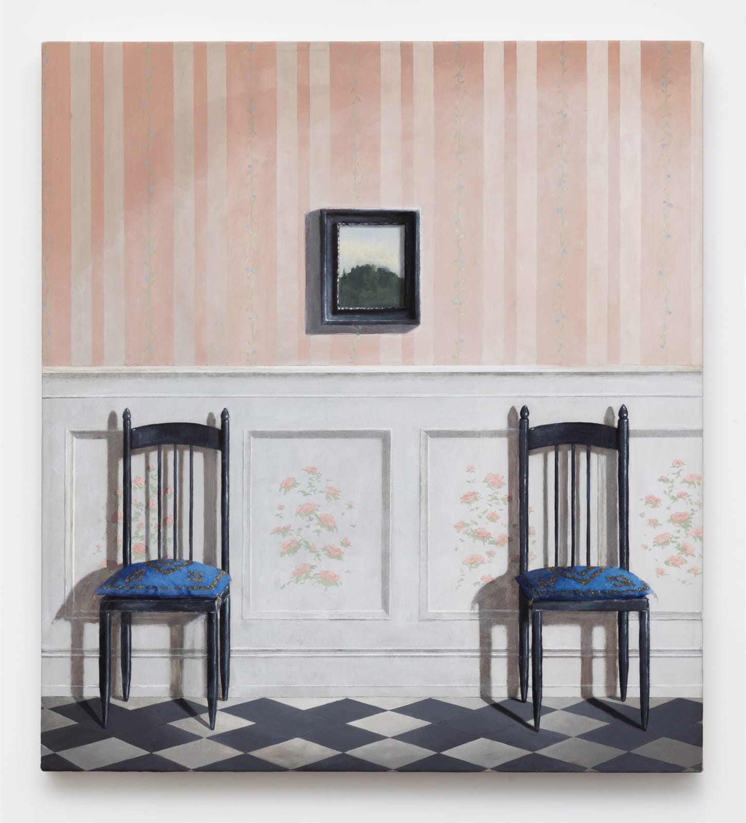 Quentin James McCaffrey, Two Chairs, 2020