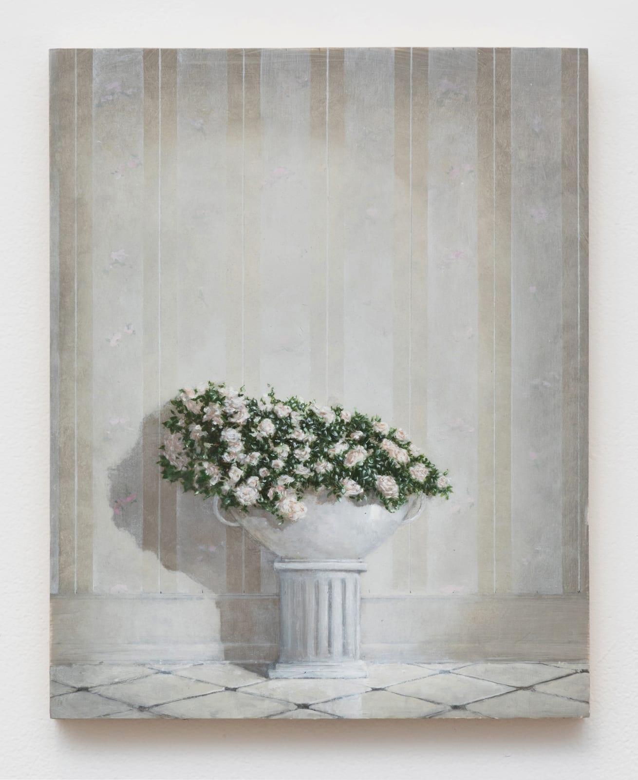 Quentin James McCaffrey, Bouquet with Column, 2020