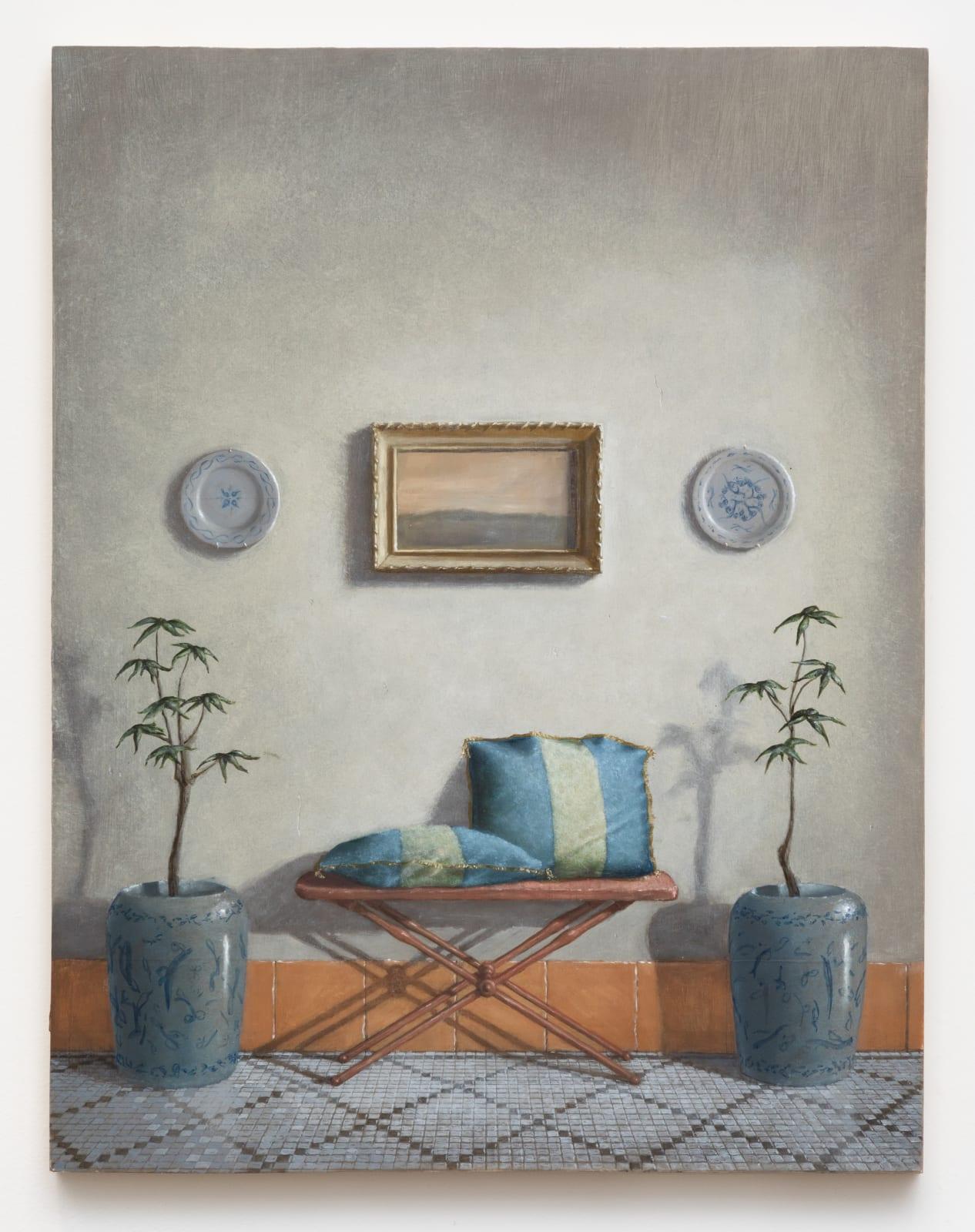 Quentin James McCaffrey, Landscape with Pillows, 2020