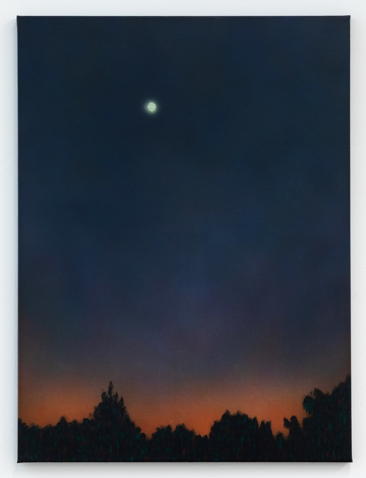 Sung Hwa Kim, Nocturne: The night returned to its sleep and silence, 2021