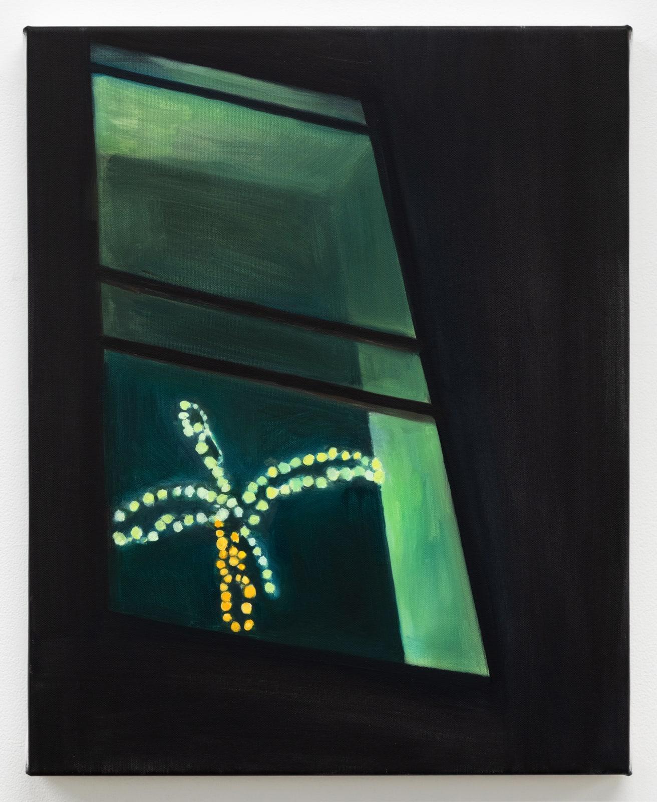 Aglaé Bassens, Neon Palm, 2021