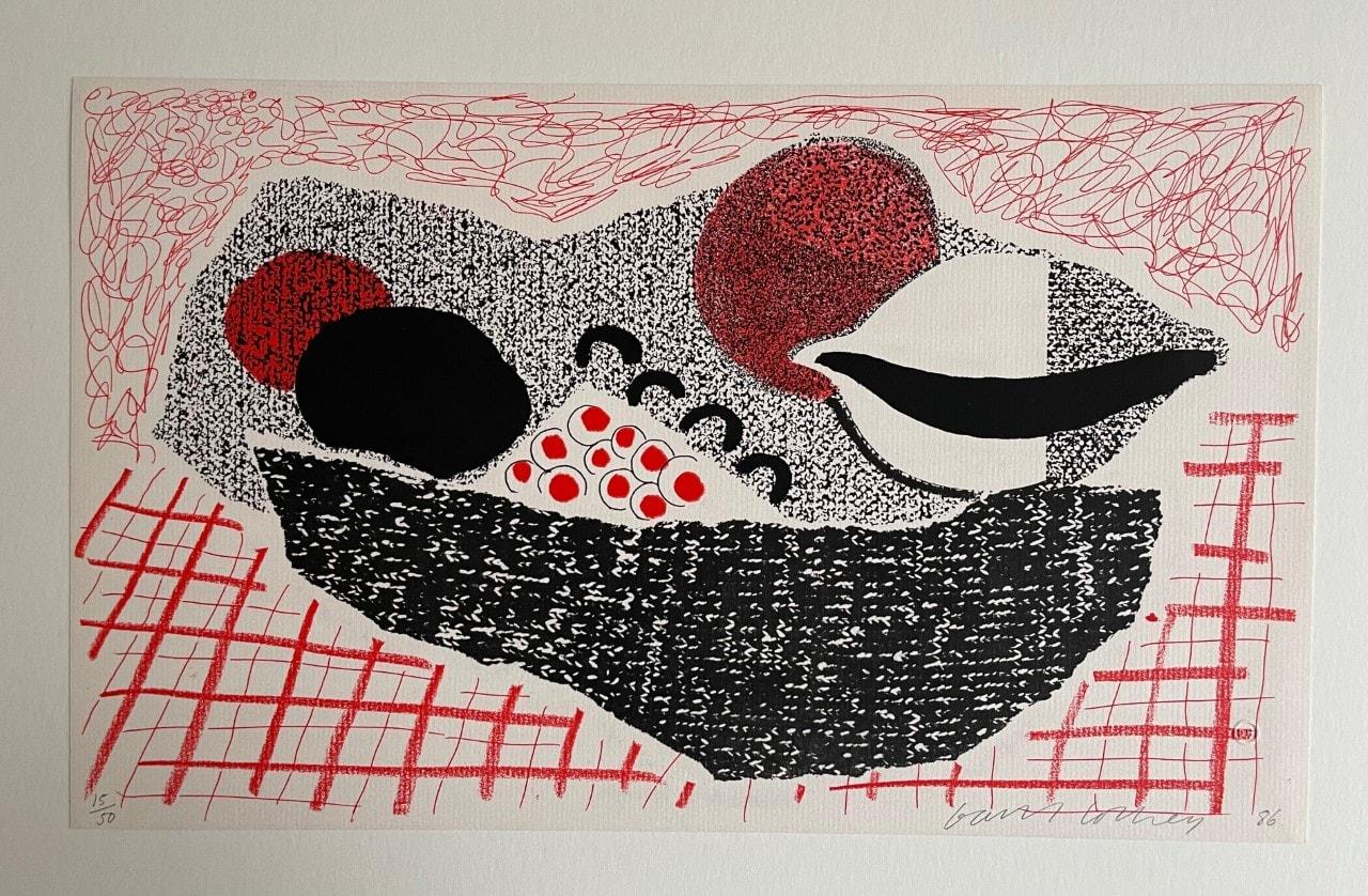 David Hockney, Lemons & Oranges, 1986