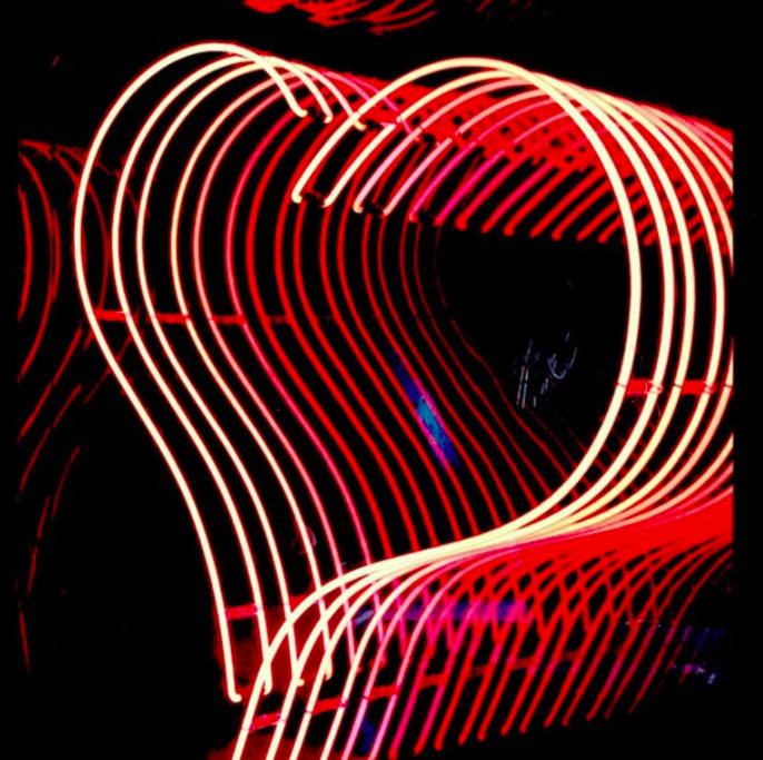 Infinity Heart Red II