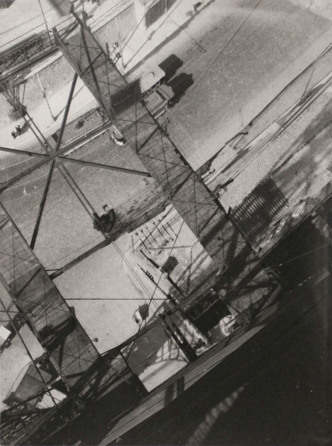 László Moholy-Nagy, View from the Pont Transbordeur, c. 1929