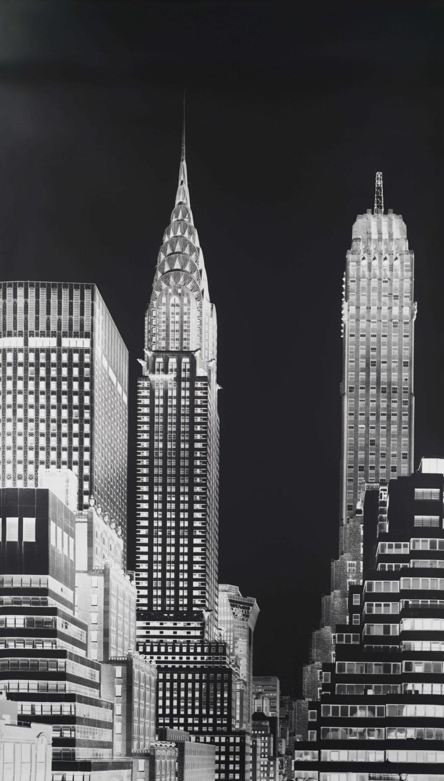 Vera Lutter, Chrysler Building, XII: June 29, 2016