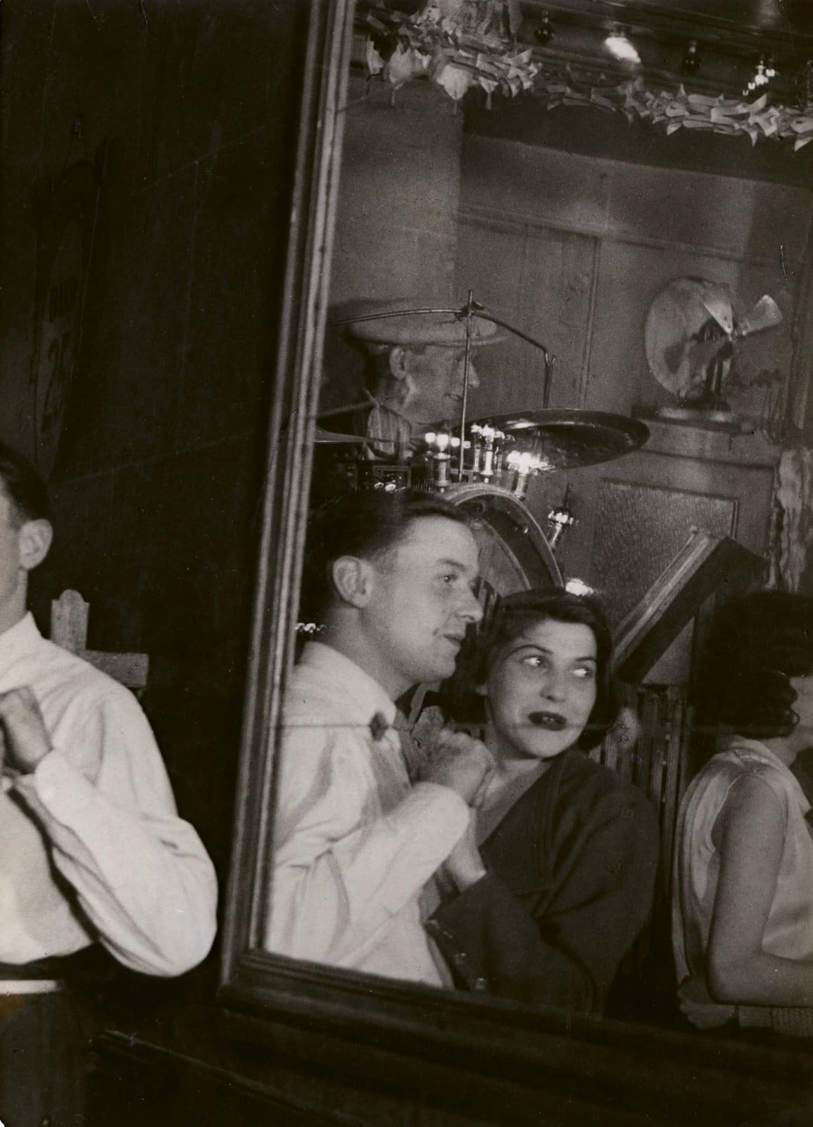 Brassaï, Au Bal Musette, Les 'Quatre Saisons' Rue de Lappe, 1932