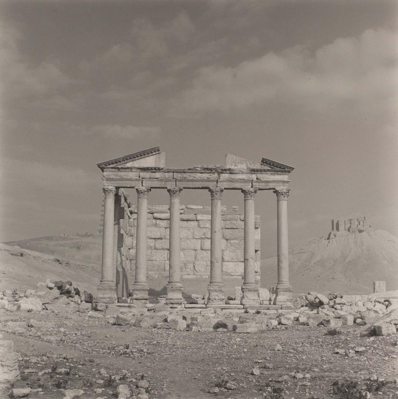 Lynn Davis photograph of temple ruins in Palmyra, Syria