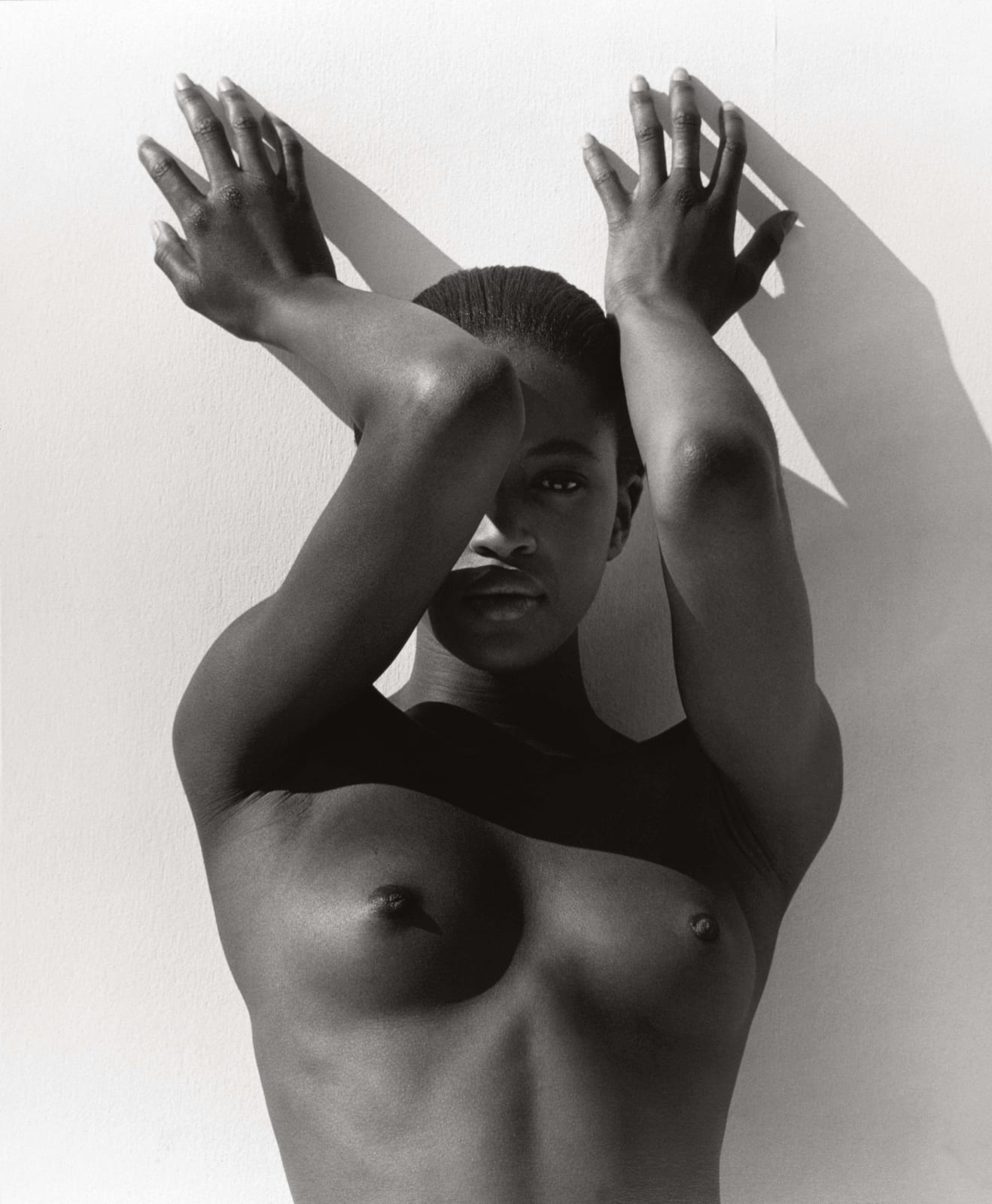 Herb Ritts, Naomi With Raised Arms, Los Angeles, 1988