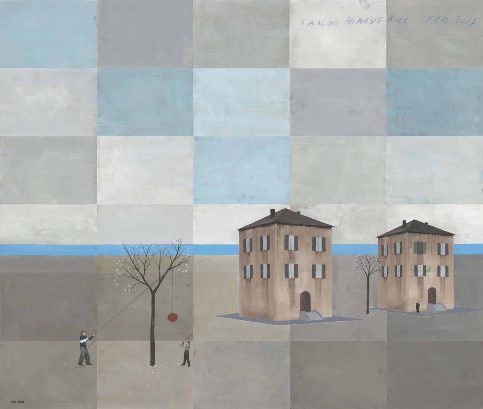 Paolo Ventura, Giardino Primaverile, 2017