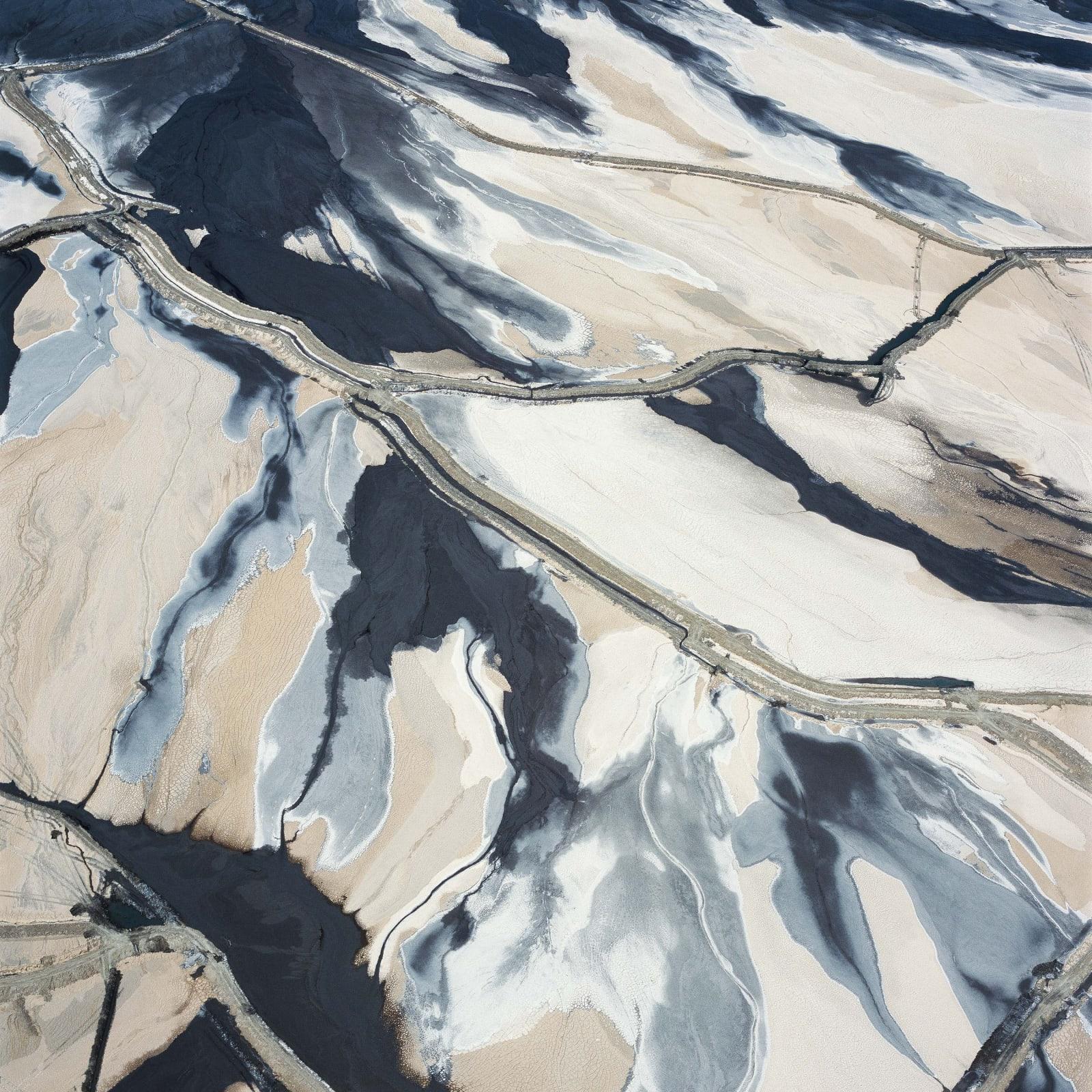 David Maisel, Tailings Pond 1, Minera Centinela Copper Mine, Antofagasta Region, Atacama, Chile, 2018