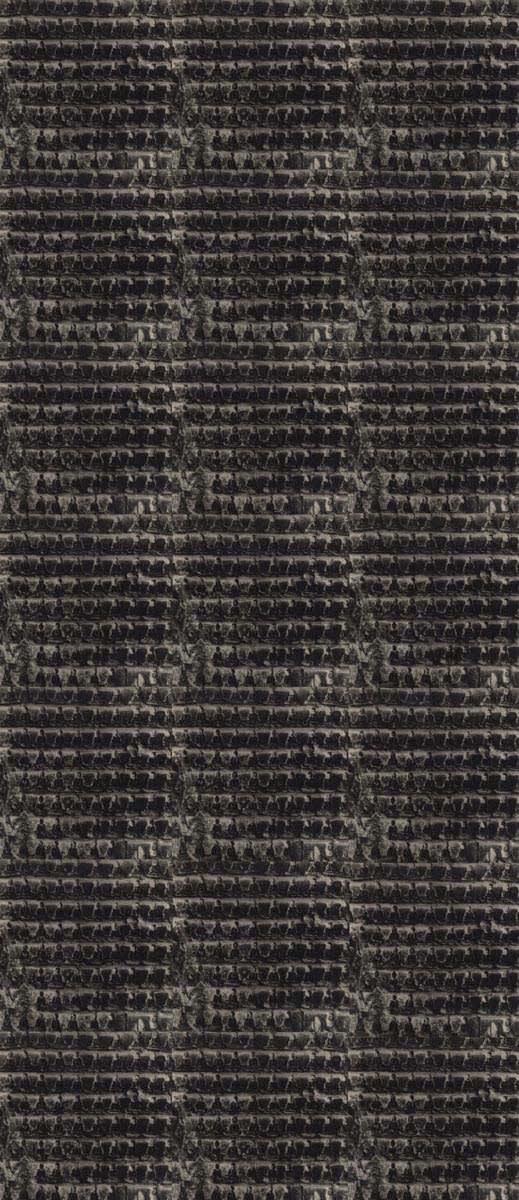 Lynn Davis, 1000 Buddha Piece (negative), Yangang Caves, China, 2001