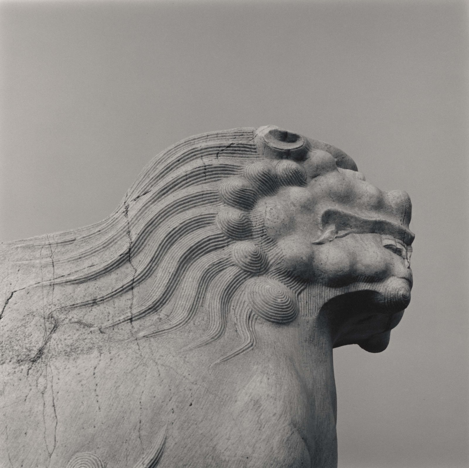 Lynn Davis, Sacred Way of Xiaoling, Eastern Quing Tombs, outside Beijing, China, 2001