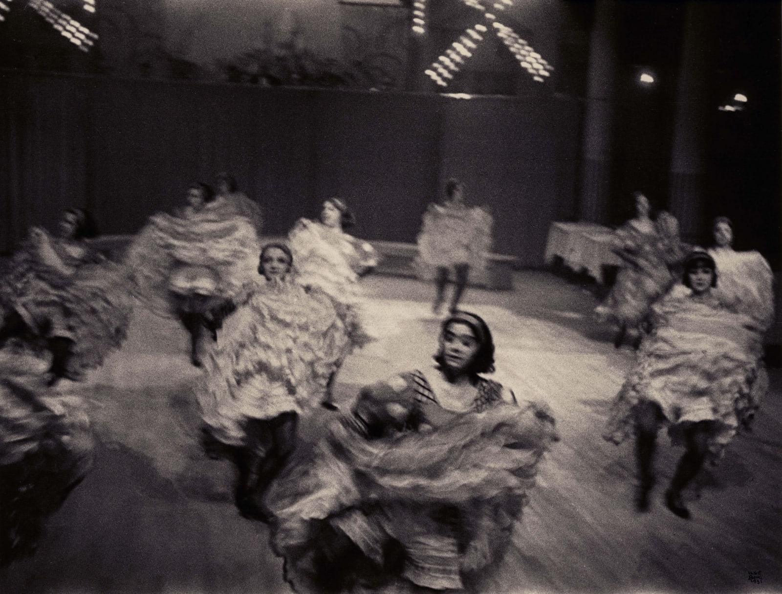 Ilse Bing, Cancan Dancers, Moulin-Rouge, Paris, 1931