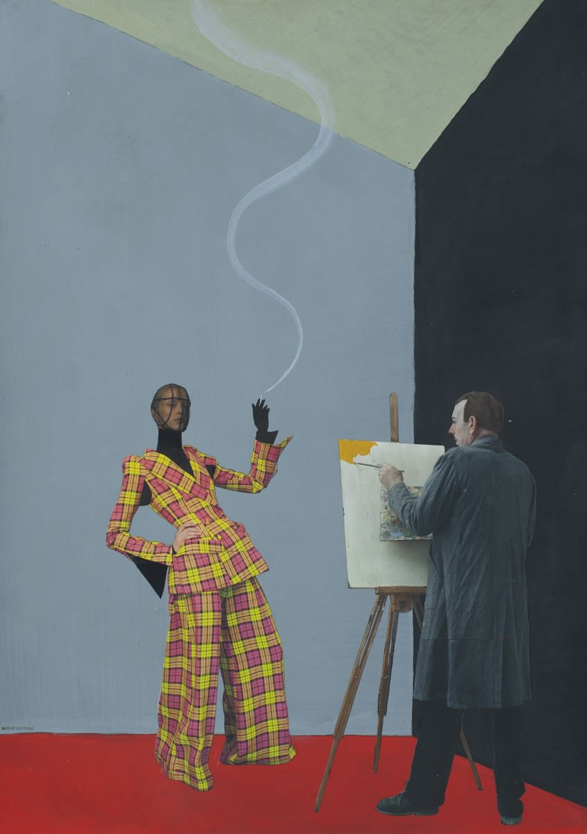 Paolo Ventura, The Painter's Story #02, 2019