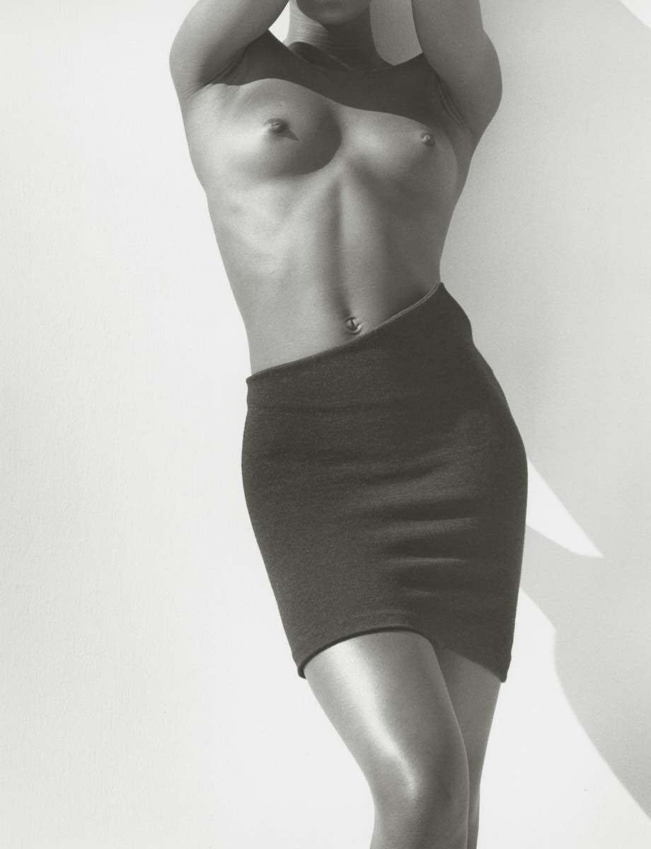Herb Ritts, Naomi, Detail, Los Angeles, 1988