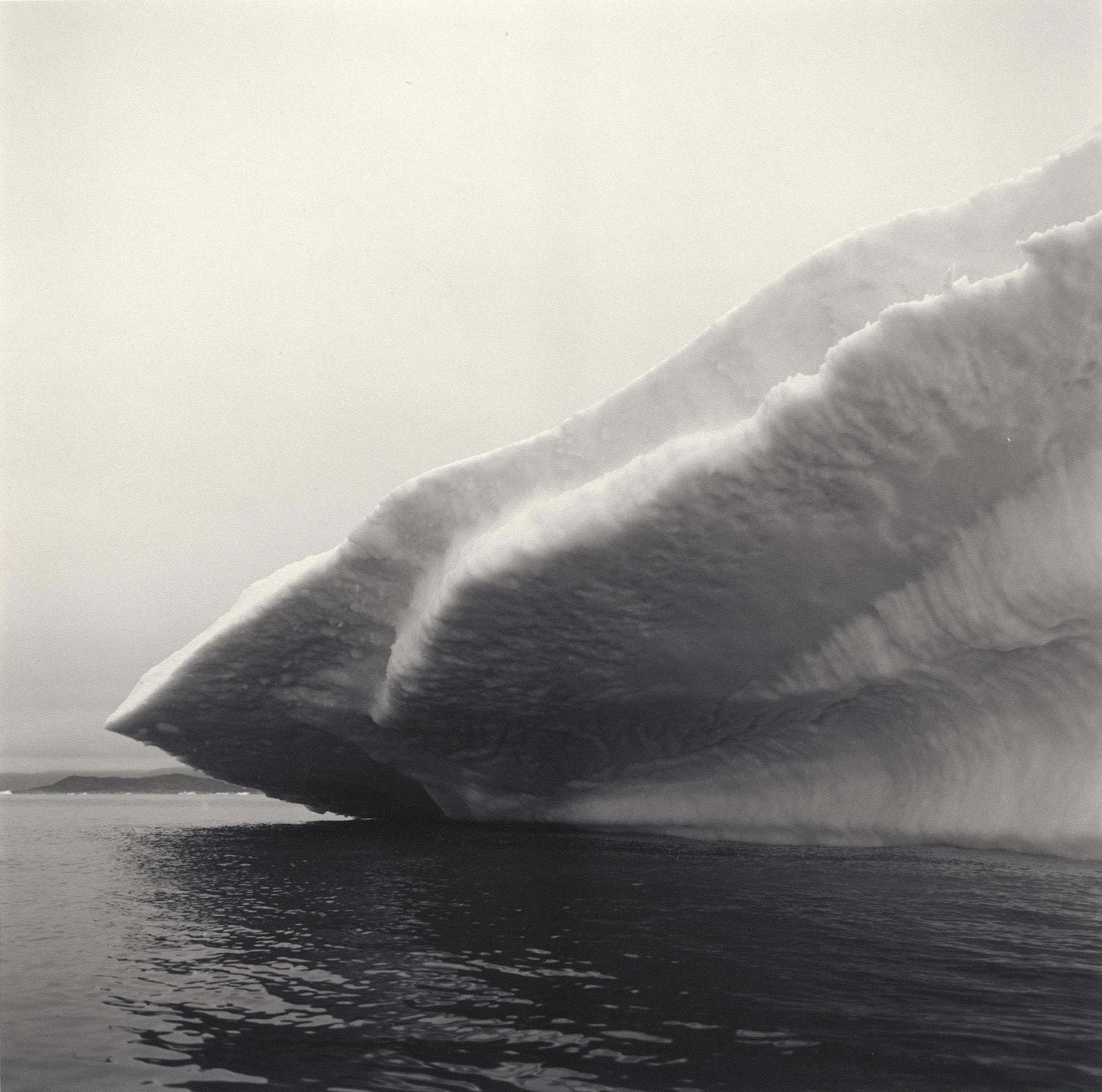 Lynn Davis photograph of iceberg in Disko Bay, Greenland, in diamond shape