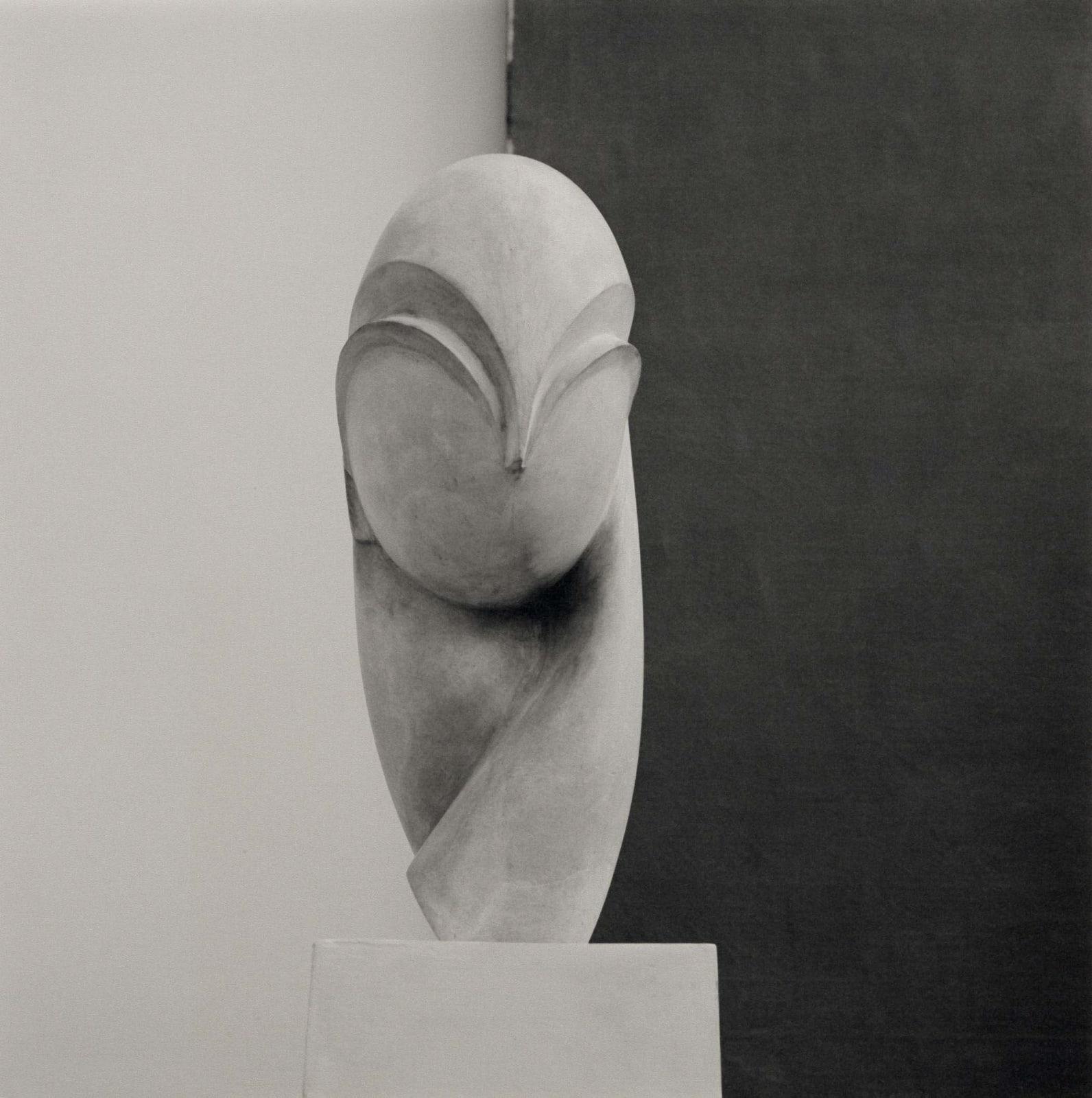 Lynn Davis photograph of Madame Pogany sculpture by Brancusci