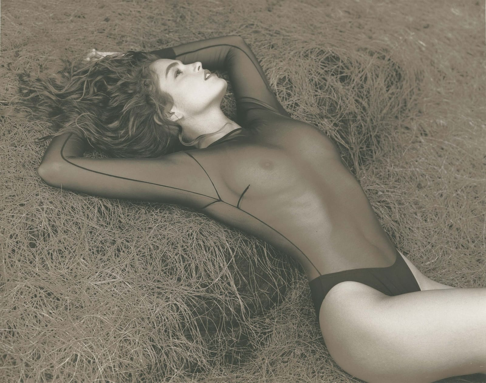 Herb Ritts, Cindy Crawford, Hawaii, 1988