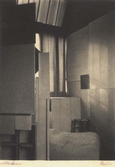André Kertész, Atelier Mondrian, Paris, 1926