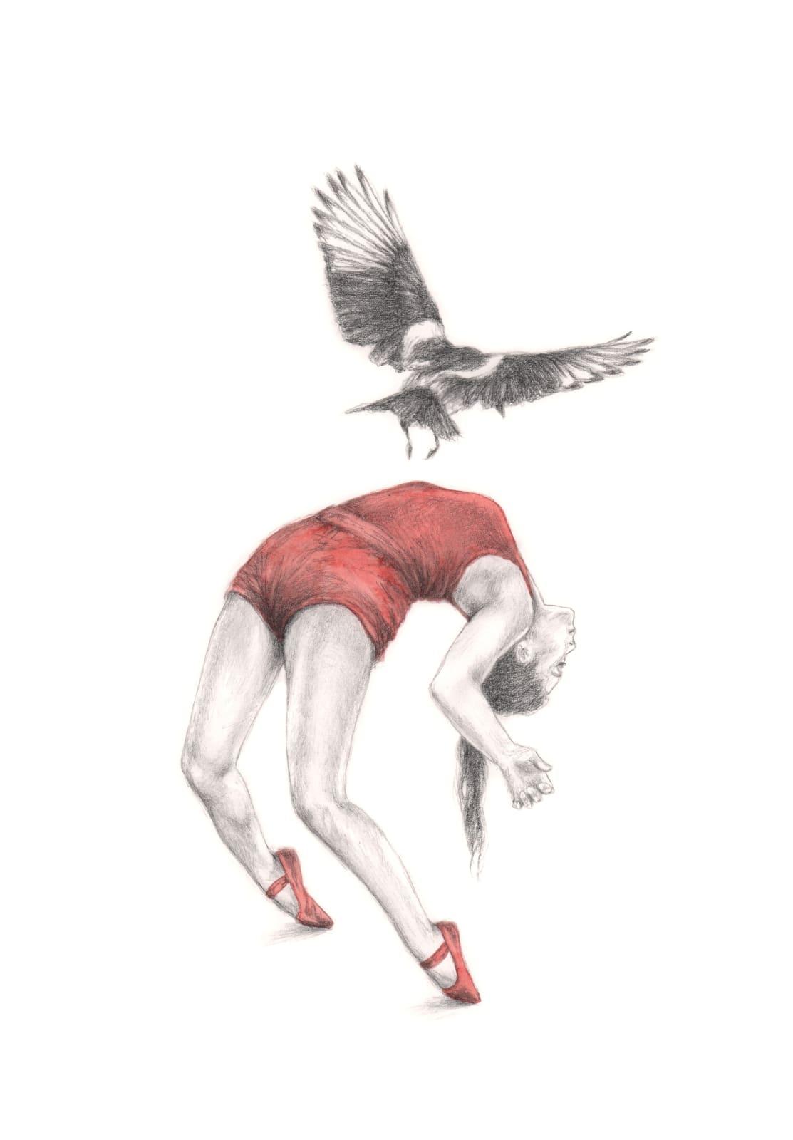 Rachel Goodyear, Hypnotist (Magpie), 2021