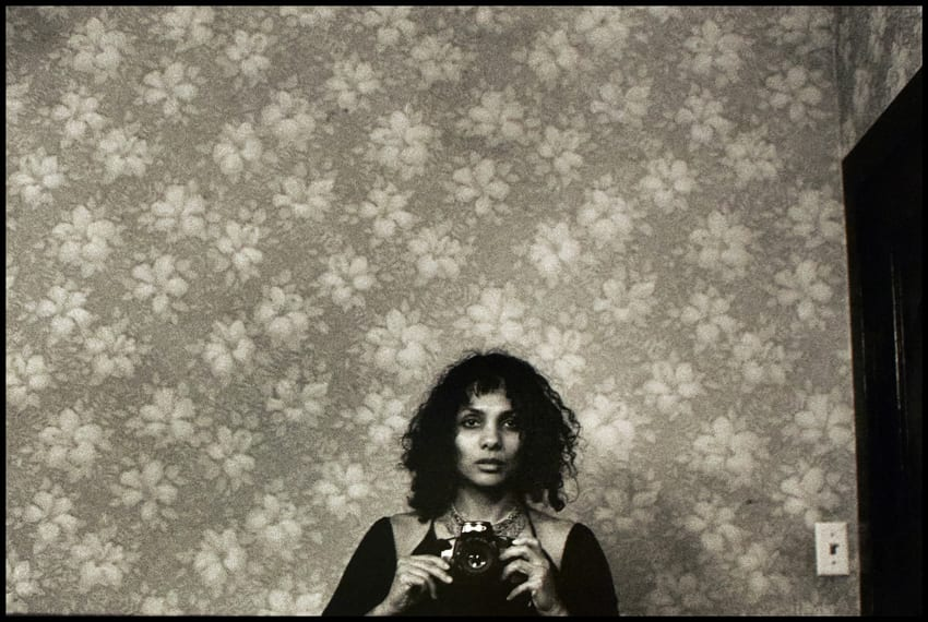 Ming Smith, Untitled (Self Portrait with Camera), New York City, NY, 1975