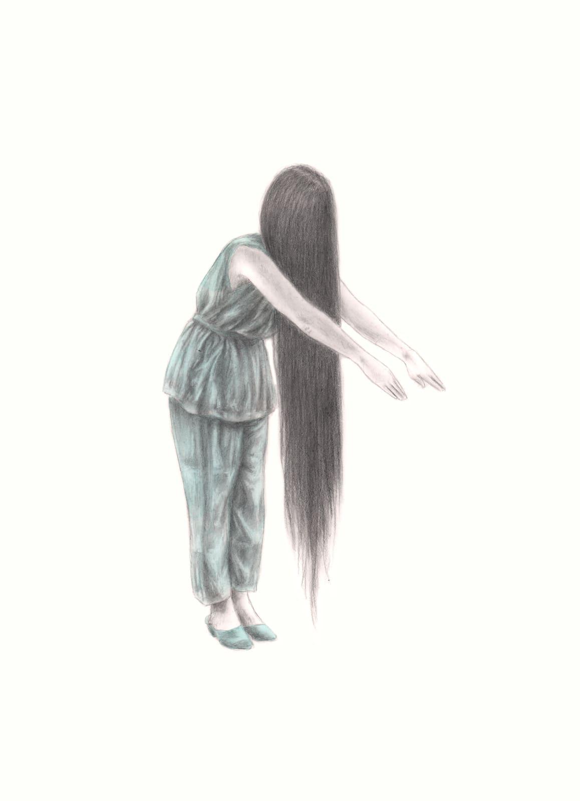 Rachel Goodyear, Long Hair, 2021