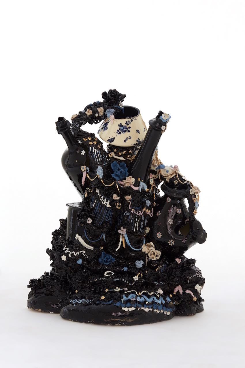 Francesca DiMattio, Black Confection, 2015
