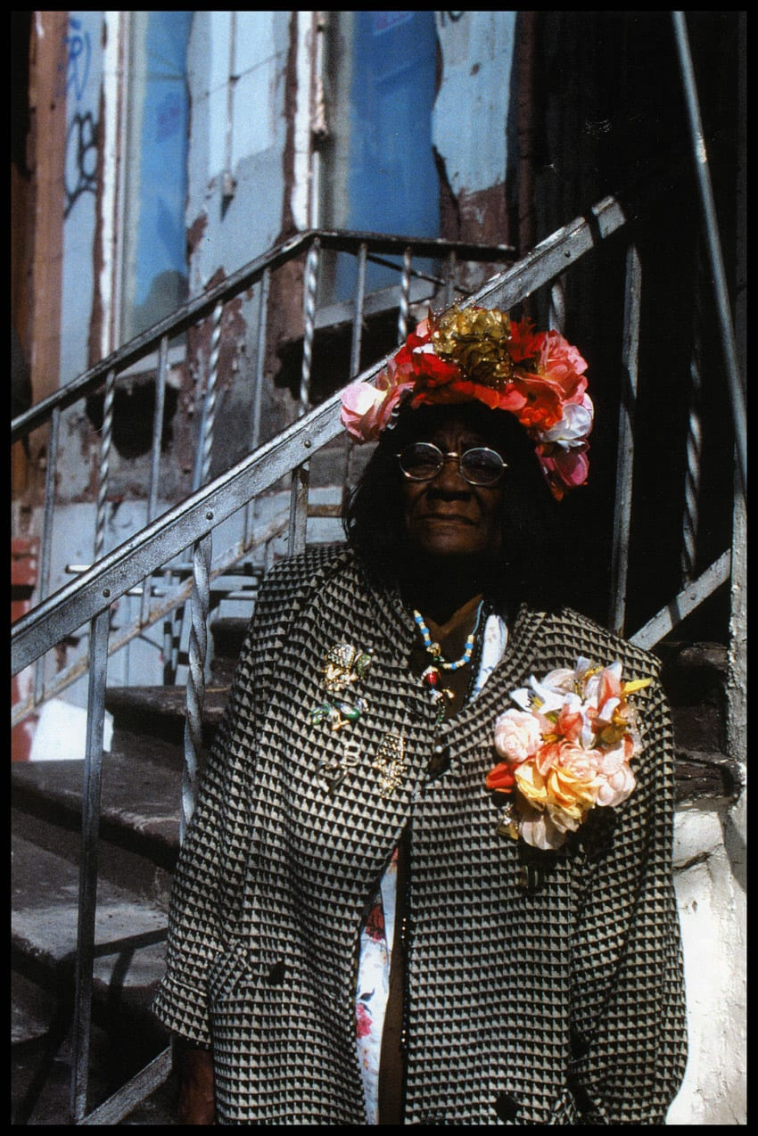 Ming Smith, Flower Lady, 1996