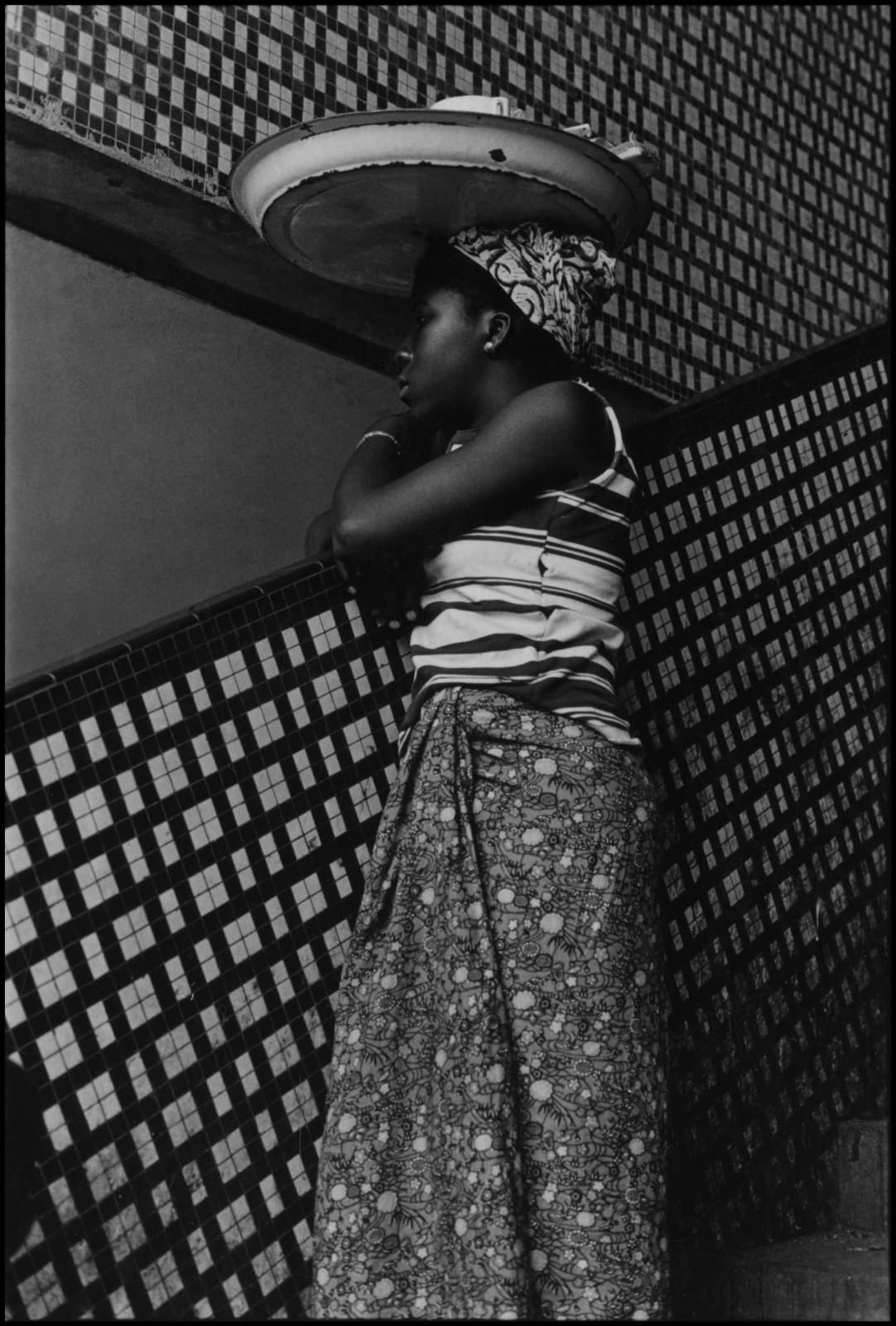 Ming Smith, Symmetry on the Ivory Coast, Abidjan, Ivory Coast, 1972