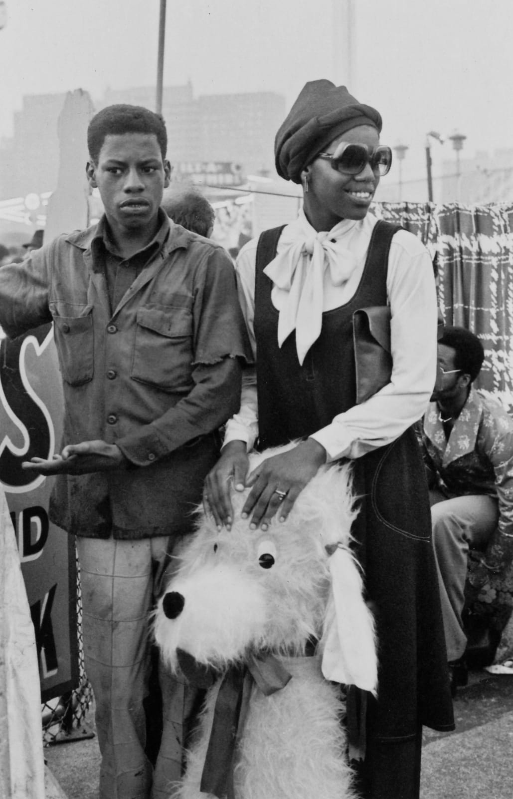 Ming Smith, Coney Island Couple, 1976