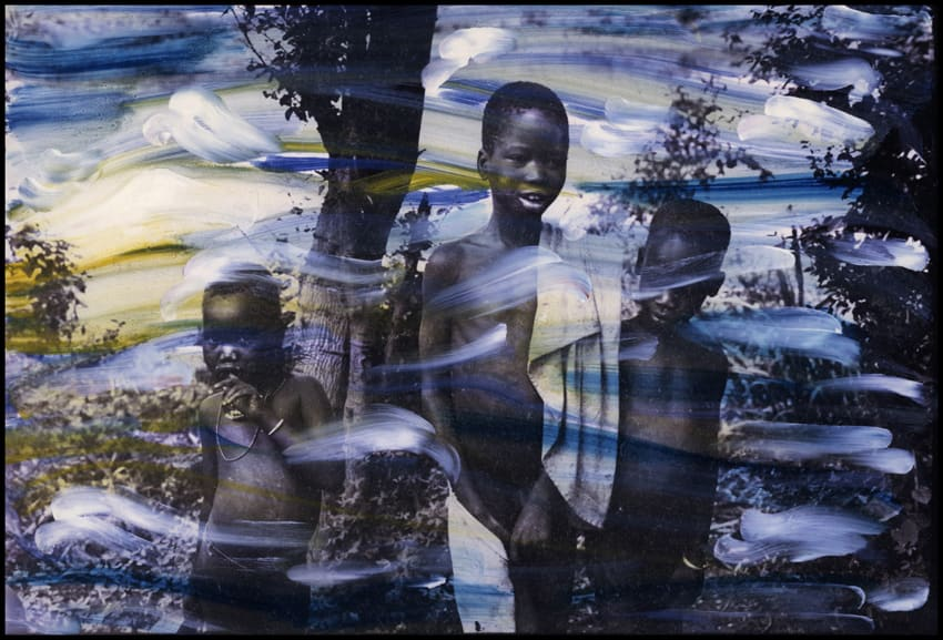 Ming Smith, Trio in Gambela, Gambela, Ethiopia, 1973, 2003