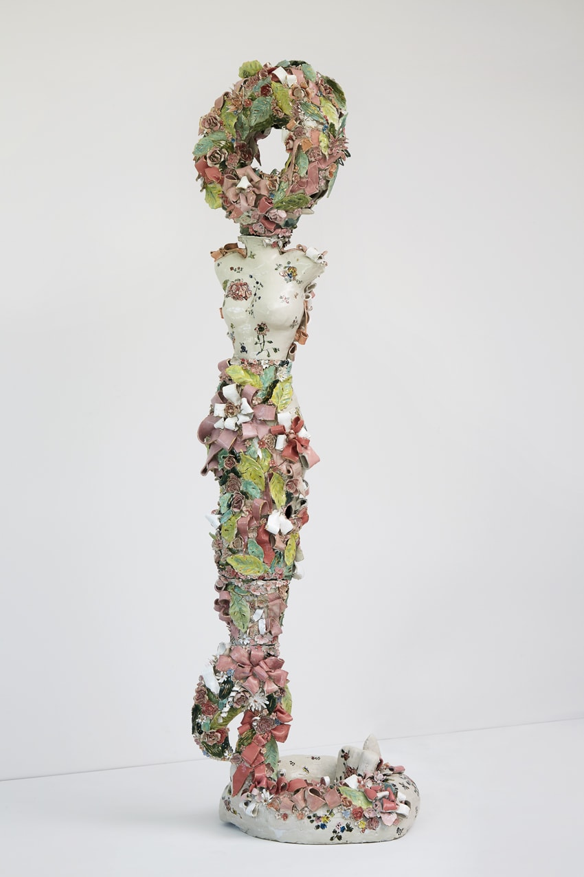 Francesca DiMattio, Flamingo Caryatid, 2019