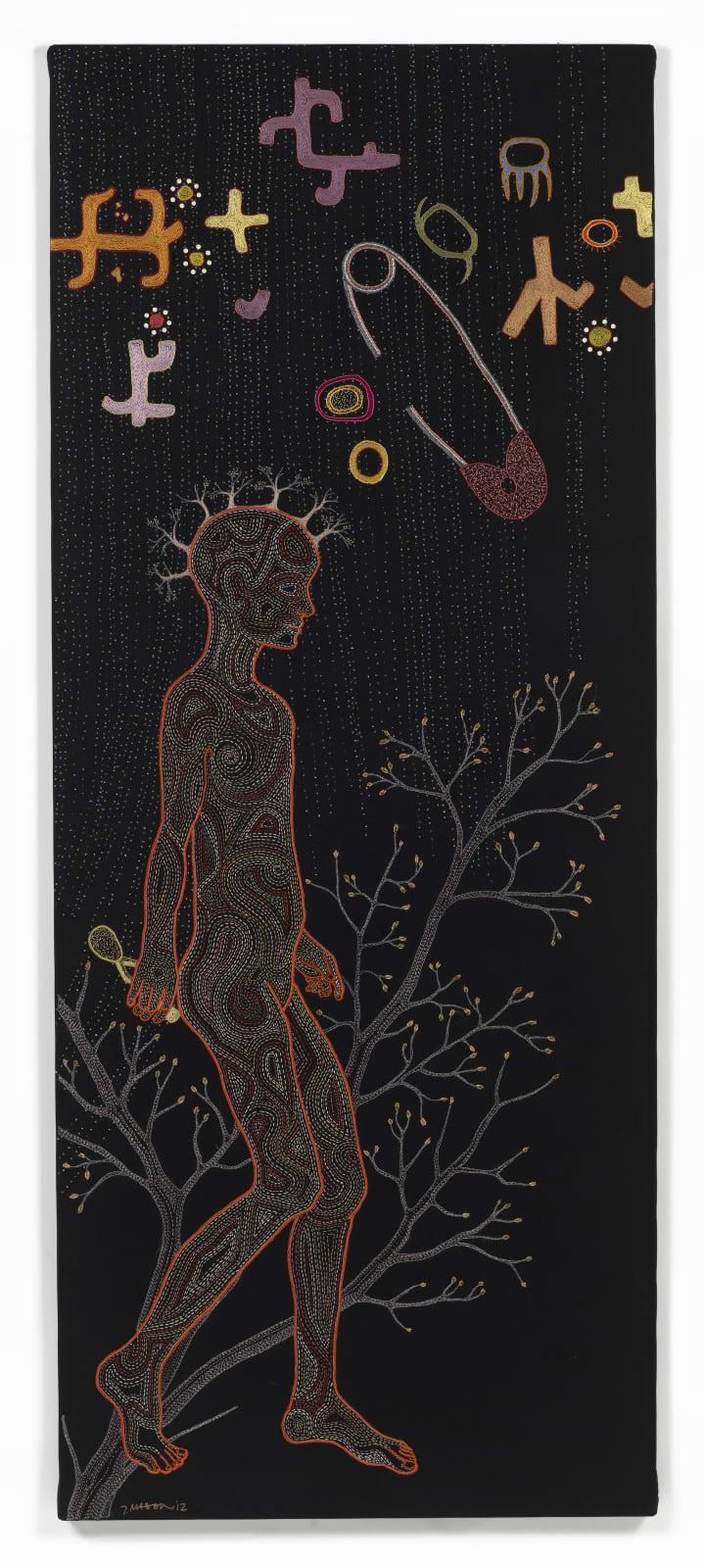 Tamar Mason, My mtDNA (LOa1b), 2012