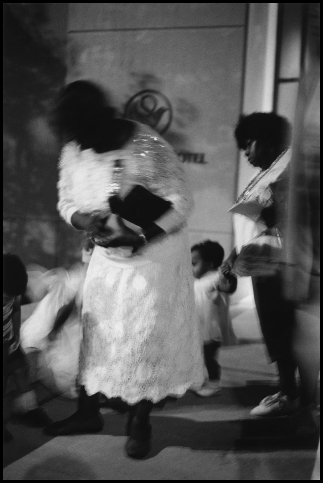 Ming Smith, First Sunday I (Grandmother's Pocketbook), 1980