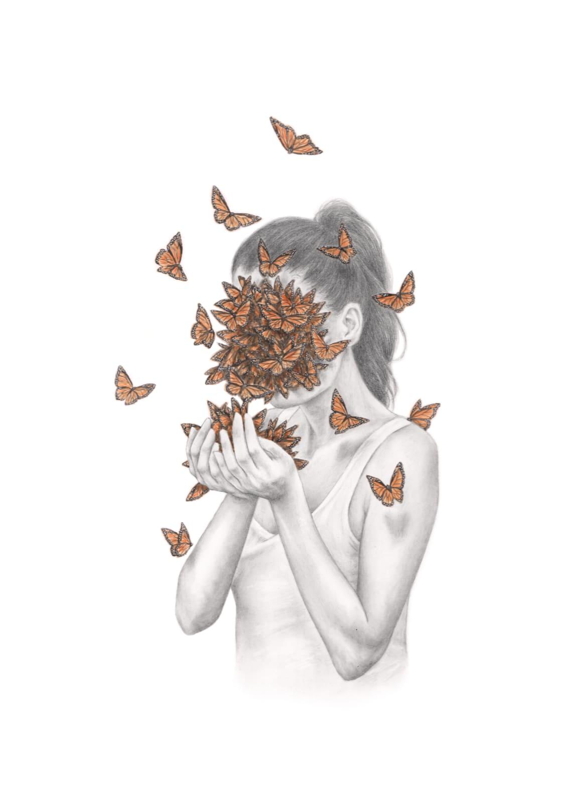 Rachel Goodyear, Butterflies, 2021