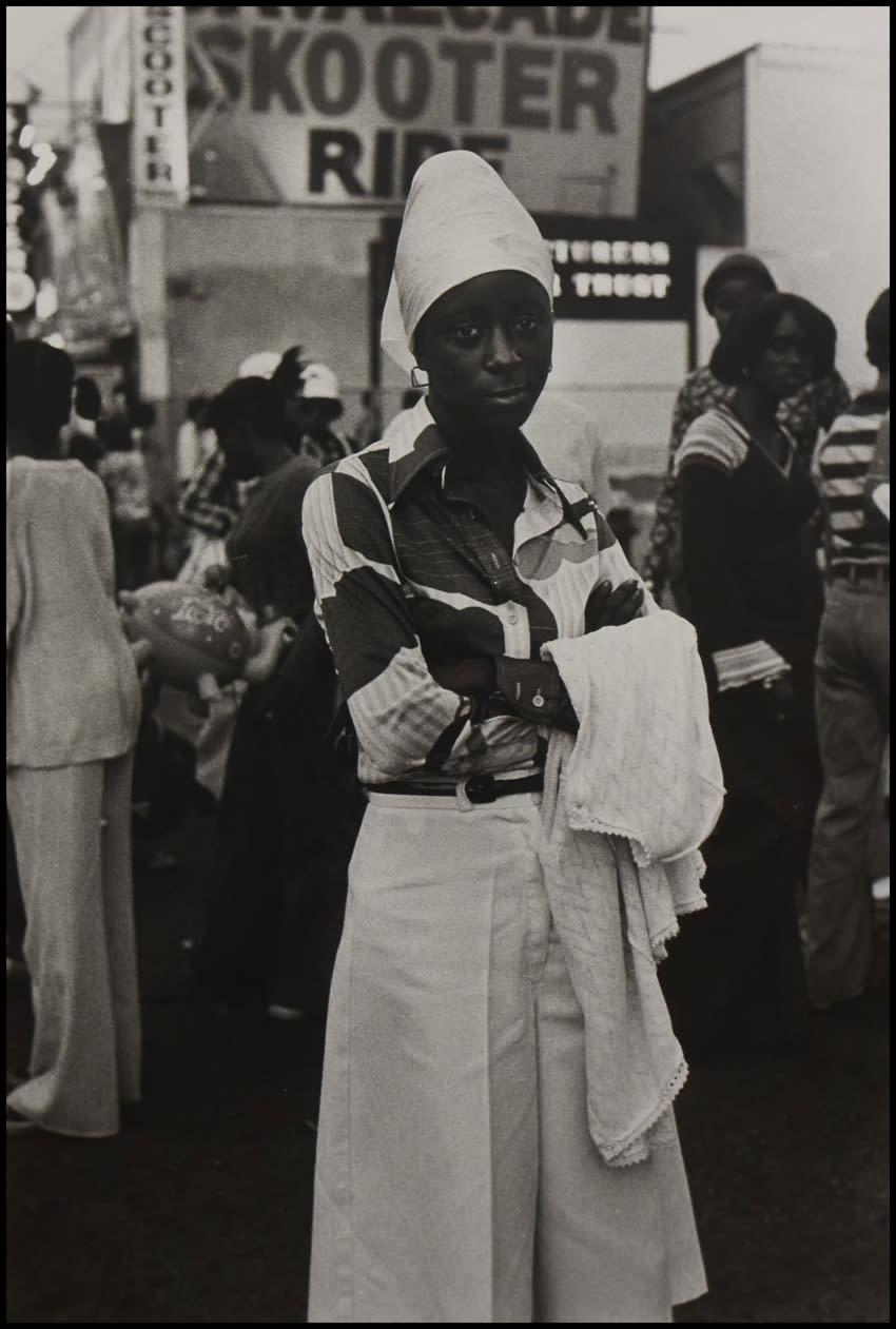 Ming Smith, Beauty, Coney Island, 1976