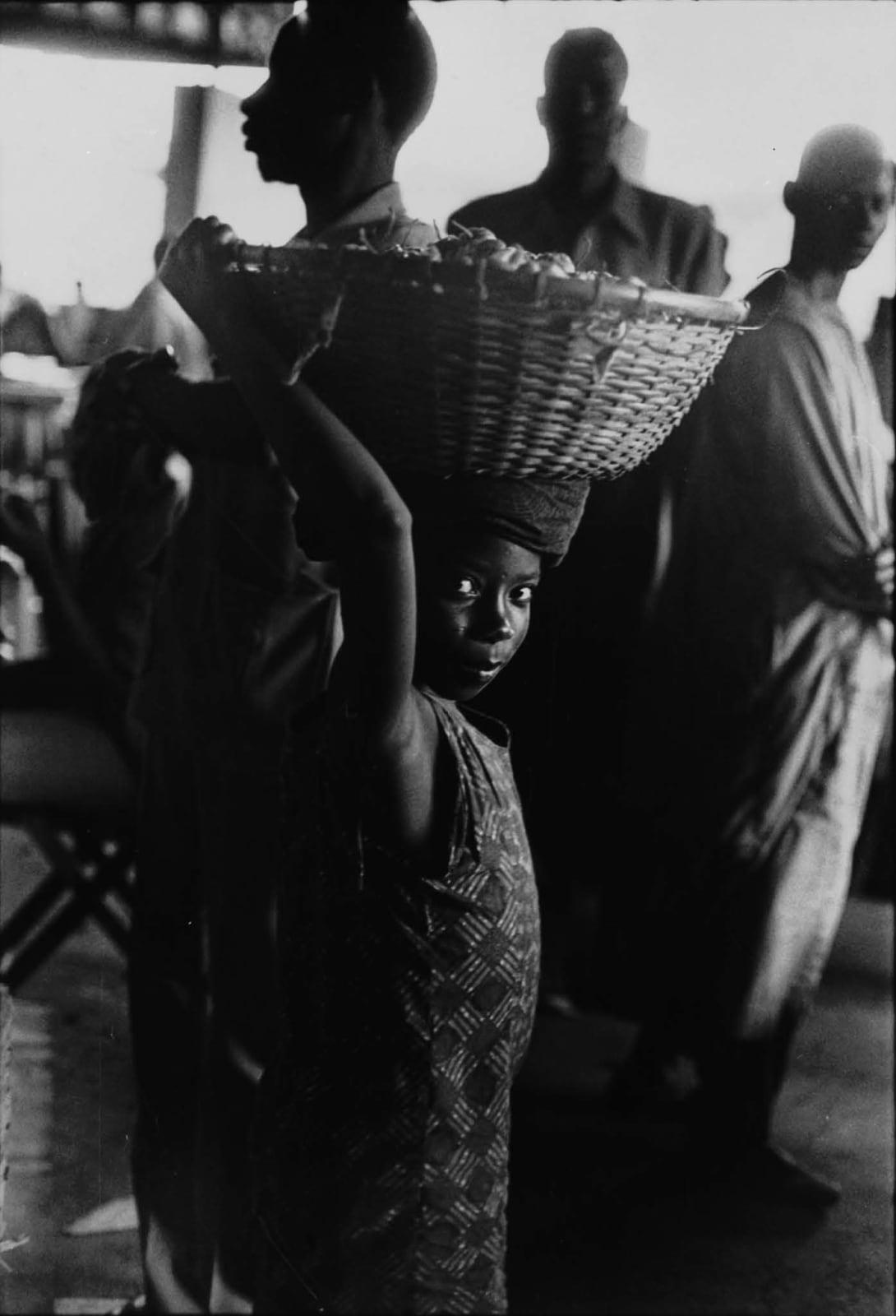 Ming Smith, Child Porter, Abidjan, Ivory Coast, 1972